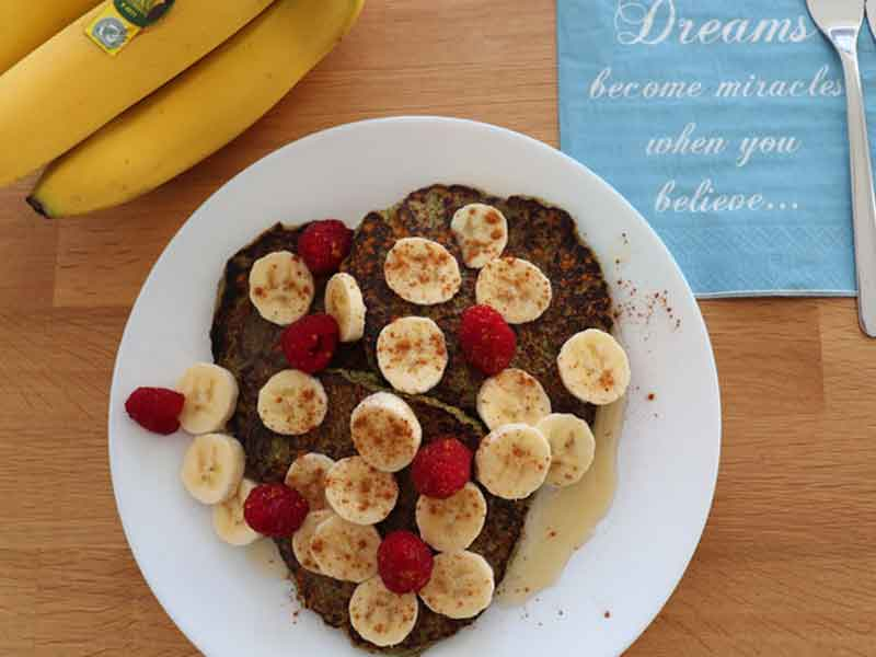Vegan-banaan-spinazie-pancakes Weerstanden Calculator