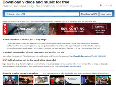 Youtube-muziek-downloader-gratis Webdesign